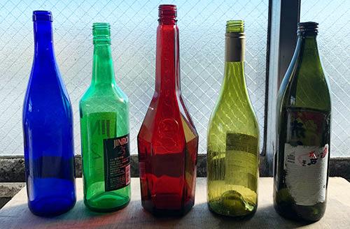 加工前のビン